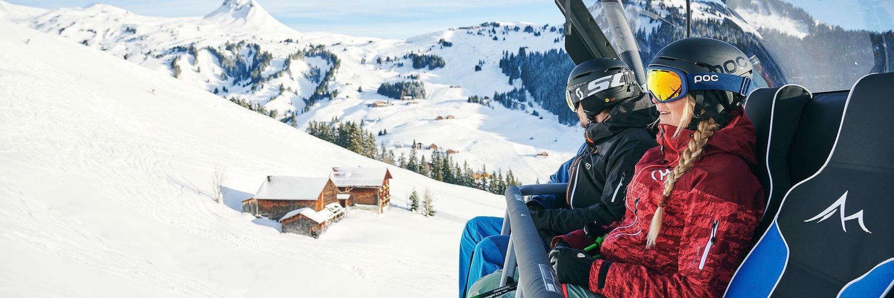 Exklusives Skivergnügen im Bregenzerwald