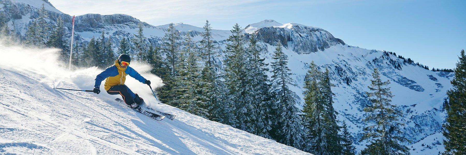 Skiurlaub im Skigebiet Damüls-Mellau