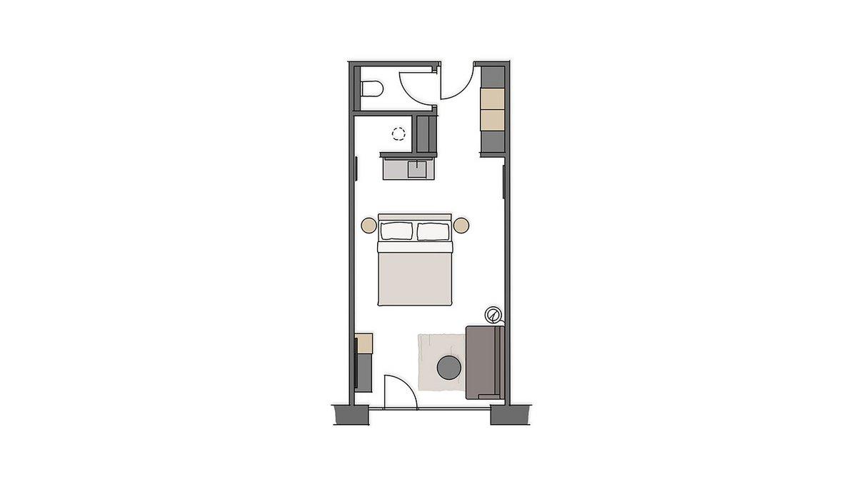 'Himmelschlüssel' double room